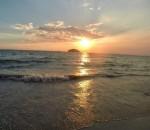 otres sunset